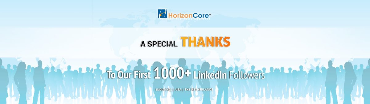 A Special Thanks to First 1000+ LinkedIn Followers!