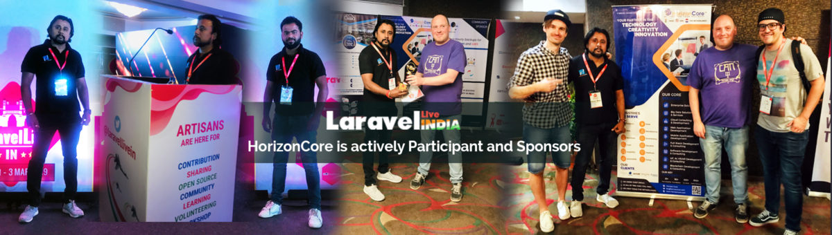 HorizonCore Sponsors LaravelLive India Event to Explore New Talents and Technologies